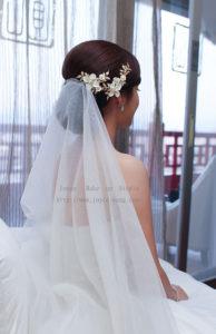 時尚優雅_綺 結婚宴造型