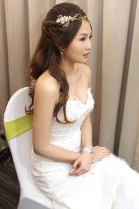 歐風公主甜美_若結婚宴造型