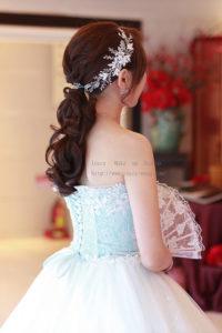 韓妝復古時尚_靈結婚造型