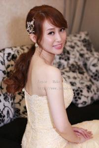 韓妝時尚優雅_曼 結婚造型