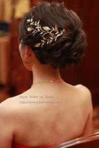 明曄婚宴造型-新娘最愛的自然雅緻造型