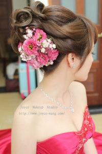 韓式彩妝自然甜美_娸 訂結婚宴造型