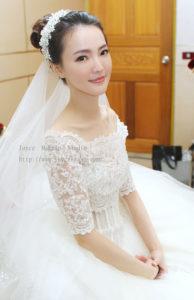 韓式彩妝歐風簡約_苡 結婚宴造型