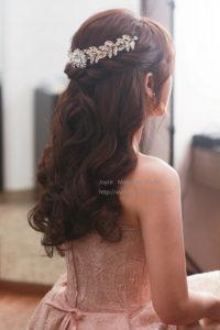 慧欣婚宴造型-新娘最愛的自然甜美造型