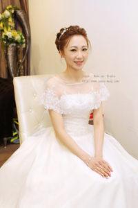 韓式彩妝優雅蕾絲_媛 結婚宴造型