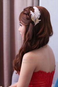 自然韓妝復古時尚_軒 結婚造型