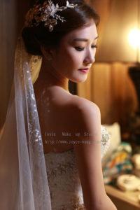 佩雯婚宴造型-新娘最愛的時尚歐美造型