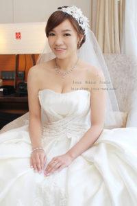 韓式彩妝典雅甜美_甯 訂結婚宴造型